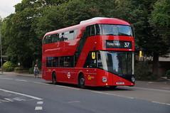 Go-Ahead (London Central) VHP1 - Route 37 (_rysx_) Tags: bus london unitedkingdom goaheadlondon goahead prototype b5lhc volvo