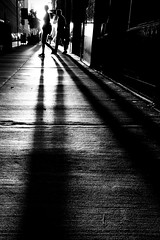 long  shadows (eb78) Tags: ca california blackandwhite bw monochrome greyscale grayscale streetphotography iphone iphoneography sf sanfrancisco financialdistrict