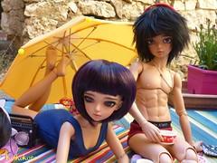 Jicky & Elys (koikokoro) Tags: minifee luka tan twins fairyland mirwen rheia littlefee piki modified soom rang boy legit proud