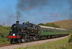 80104 (gareth46233) Tags: 80104 corfecastle corfe common swanage railway