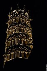 Les Jacobins de nuit, Toulouse (lyli12) Tags: clocher couvent jacobins toulouse hautegaronne midipyrénées monument monumenthistorique illumination nikon