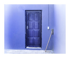 Wall Still Life With Mop (Daniela 59) Tags: wall door corner mop purple wednesdaywalls toilet restroom usakos namibia donderdagdeurendag danielaruppel