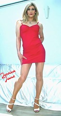 Full Body Red (jessicajane9) Tags: tg crossdresser tgurl xdress transvestite m2f tranny feminization tv crossdressing transgender lgbt trans crossdress tgirl cd travesti