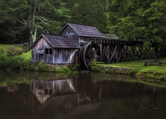 Mabry Mill (NYRBlue94) Tags: mabry mill pond reflection virginia blue ridge parkway green tree platinumheartaward