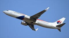 Malaysia Airlines, Boeing737-800 (9M-MXM), Taoyuan International Airport, Taiwan R.O.C. (Dustin Chuang) Tags: malaysiaairlines boeing7378009mmxn taoyuaninternationalairport taiwanroc tpe 737 738 馬航 馬來西亞航空