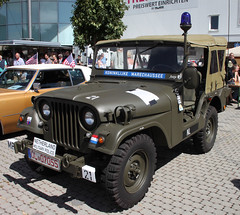 Dutch Jeep (Schwanzus_Longus) Tags: big bumper meet oldenburg german germany car vehicle old classic vintage military army willys jeep nekaf m38 a1 m38a1 police us usa america american dutch holland
