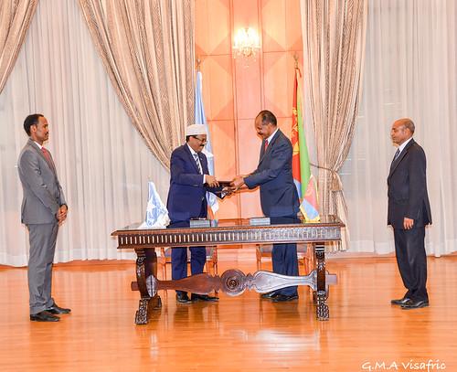 Eri Somalia peace agreement