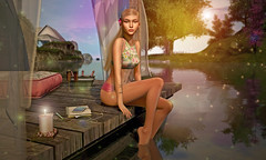 """''Summer afternoon — summer afternoon; to me those have always been the two most beautiful words in the English language."""" (Ophelia.Bracken) Tags: catwa insol studioexposure deaddollz lepoppycock dahlia mossmink peaches ariskea"""