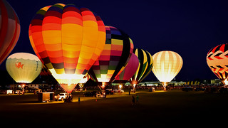 Balloon Rally Afterglow
