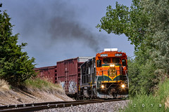 The Buck Topping Burkes Hill (Colorado & Southern) Tags: bnsfrailway bnsf norfolksouthern geb408 emdgp382 bucklocal local locomotive locomotives trains train railfanning railroad railfan railway railroads railroading rail rr railroadtrack colorado coloradorailroads coloradotrains