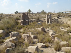 Ruins of Bubastis (Aidan McRae Thomson) Tags: bubastis tellbasta ancient egyptian ruins archaeological site egypt