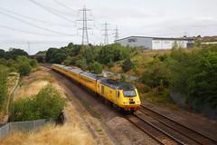 Novelty Value.... (marcus.45111) Tags: networkrail class43 yellow 1q17 derbyremodelling rtc exbritishrail highspeedtrain intercity125 flickr flickruk canoncameras canondslr canon5dmk11 2018