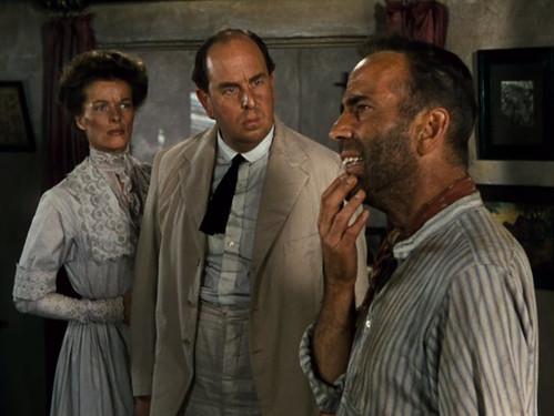 Katharine Hepburn, Robert Morley, Humphrey Bogart,