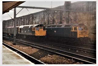 Diesels at Carlisle.