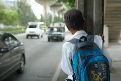 Bus stop (Ien Yamasaki) Tags: nikkor 4386 4386mm mm vintage zoom lens review sample bangkok thai thailand