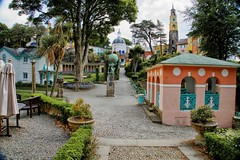 Portmeirion viewpoint (Mabjack) Tags: mabjack portmeirion gwynedd northwales uk buildings colour italianate towers sircloughwilliamsellis penrhyndeudraeth village pastelcolours touristattraction