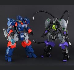 Lego jaegers (guitar hero78) Tags: afol lego legomech legomoc mech moc mecha jaeger stilllife robot fujifilm fujinon xe1