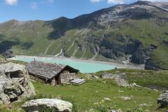 Moiry (bulbocode909) Tags: suisse moiry grimentz valais valdanniviers lacdemoiry nature cabanes chalets rochers paysages vert bleu nuages montagnes lacs