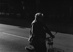 elder on bike (Ankh61) Tags: elder bike city contrast leica m2 summarit 15 black white