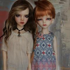 DiM girls 💛 (giddykipper/debra) Tags: bjdmsd bjd dollinmind dim