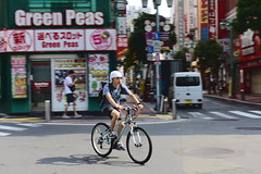 新宿 (briandodotseng59) Tags: asia taiwan japan nikkor nikon color coth5 sun day light yellow street life road travel foreign person