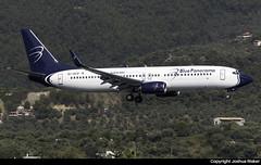 Blue Panorama Boeing 737-89L EI-GFP @ Skiathos Airport (LGSK/JSI) (Joshua_Risker) Tags: skiathos airport lgsk jsi greece blue panorama airlines boeing 737 737800 eigfp