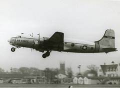 42-72566. United States Air Force Douglas SC-54D Skymaster (Ayronautica) Tags: ayronautica aviation scanned pik prestwick egpk military usaf 1961 january 4272506 douglassc54dskymaster 67ars unitedstatesairforce