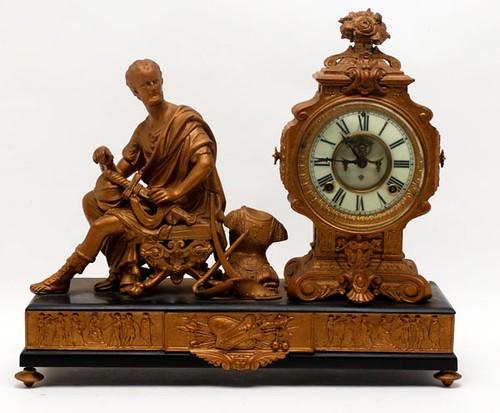 Ansonia Figural Clock ($212.80)
