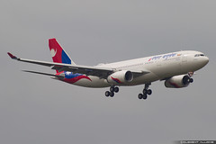 Nepal Airlines Airbus A330-243 cn 1872 F-WWCT // 9N-ALY (Clément Alloing - CAphotography) Tags: toulouse airport airplane aircraft airbus flight test canon 100400 spotting tls lfbo aeropuerto blagnac airways aeroplane engine sky ground take off landing 1d mark iv nepal airlines a330243 cn 1872 fwwct 9naly