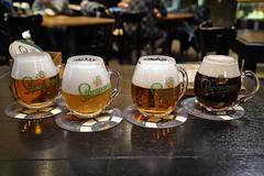 Taster selection - Staropramen Visitor Centre, Prague (Neil Pulling) Tags: staropramenvisitorcenter staropramenvisitorcentre prag prague czechrepublic czechia beer staropramen bier pivo piwo biere