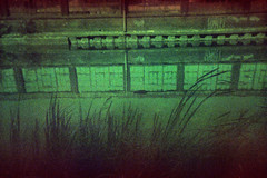 canal reflection (pho-Tony) Tags: snaprsingleuseunderwatercamera snap r single use underwater camera snapr singleuse underwatercamera expired disposable iso400 italian italianfilm tetenal c41 fog fogging deterioration degredation