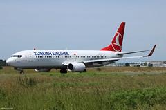 Boeing 737-800 Turkish Airlines TC-JVZ (Arthur CHI YEN) Tags: boeing 737800 turkishairlines b737 b738 lfbd bod tcjvz