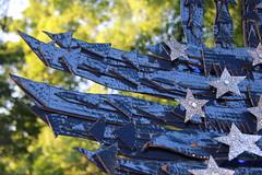 Flag #31 (Curtis Gaston) Tags: usa ameri flag art sculpture patriotic patriotism