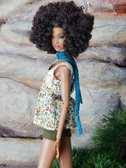 """Flowerfield Lace"" (Levitation_inc.) Tags: ooak doll dolls clothes handmade fashion fashions royalty nuface integrity toys levitationfashion etsy barbie barbiestyle poppy parker summer boho 2018"
