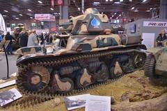 Renault char R35 (pontfire) Tags: renault char r35 rétromobile 2018 dassaut français seconde guerre mondiale panzerkampfwagen 35r 731 f tank panzer war mondial armée française french army worldwartwo worldwarii wwii retromobile