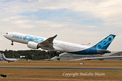 A330-941NEO F-WTTE AIRBUS (shanairpic) Tags: jetairliner passengerjet prototype a330 airbusa330 neo farnborough fwtte