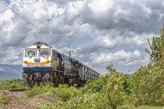 Trivandrum Intercity ! (Karthik Abbilash) Tags: indianrailways india wdp4d goc sr goldenrock ponmalai emd electromotivediesel 22627 tpj tvc intercity express tiruchirappalli thiruvananthapuram 40463 ncj tamilnadu nagercoil