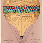 The Tricolor balloon ascension in Paris, June 6th 1874. Original from Library of Congress. Digitally enhanced by rawpixel. thumbnail