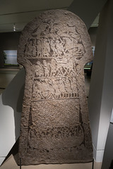Viking picture stone showing the journey to Valhalla (quinet) Tags: 2017 canada ontario rom royalontariomuseum toronto vikings 124