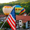 Flag Balloons in Helen, GA (JuanJ) Tags: nikon d850 lightroom art bokeh nature lens light landscape white green red black pink sky people portrait location architecture building city iphone iphoneography square squareformat instagramapp shot awesome supershot beauty cute new flickr amazing photo photograph fav favorite favs picture me explore interestingness wedding party family travel friend friends vacation beach balloons balloon ga usa georgia america blue june 2018 flag