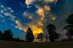 Nähe Tegernsee (maikkregel) Tags: maikkregel sony a6500 tegernsee berge bayern wasser wolken baum sturm blauestunde dämmerung abend abendsonne