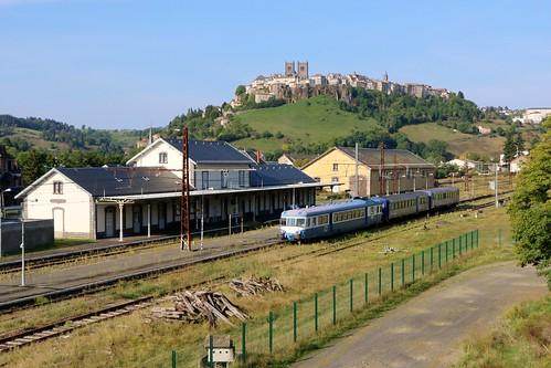 Circulation spéciale AAATV Montluçon  train touristique Montluçon - Saint Flour
