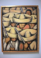 Zapatistas, by Alfredo Ramos Martinez (JB by the Sea) Tags: sanfrancisco california march2018 financialdistrict sanfranciscomuseumofmodernart sfmoma painting alfredoramosmartinez