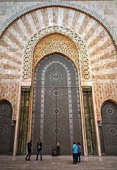 Hassan II Mosque (Giovanni C.) Tags: escan02132 gw690iiigsw690iii film analog fuji 6x9 analogue landscape mediumformat mf nohdr nature gcap giovannic scenic saveearth filmisnotdead lovefilm 120 220 v700 epson scanner scanning fujica fujifilm 160ns negative c41