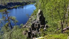 Taatsi seida, a sacred stone (Taatsinjärvi, Kittilä, 20180717) (RainoL) Tags: 2018nf crainolampinen 2018 201807 20180717 finland fz200 geo:lat=6822319052 geo:lon=2555636728 geology geotagged holyplace july kittilä lapland lappi pokka rockformation sámiculture seida seita summer taatsiseida taatsijärvi taatsinseita fin