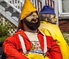 Two Maine Fishermen (Me in ME) Tags: bath maine parade fourth july independenceday tasteofmaine float fishermen