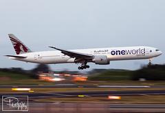 """Qatar Airways ~ Boeing 777-3DZ(ER) """"A7-BAG"""" (*DavE - PhotographY*) Tags: rjaa nrt qatarairways qr qtr boeing7773dzer boeing777 boeing 777 b777 a7bag 36014 819"""