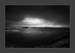 Downpour (W.Utsch) Tags: landscape iceland rain bnw leica mediumformat leicas
