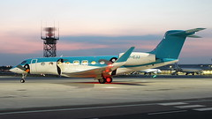 VP-CJJ (RJE Aviation Images) Tags: vpcjj london southend airport egmc sen gulfstream aerospace g650er glf 6 early morning arrival