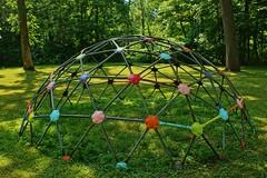 Playground Fun (chumlee10) Tags: park play il illinois playground colorful kids kingston monkeybars